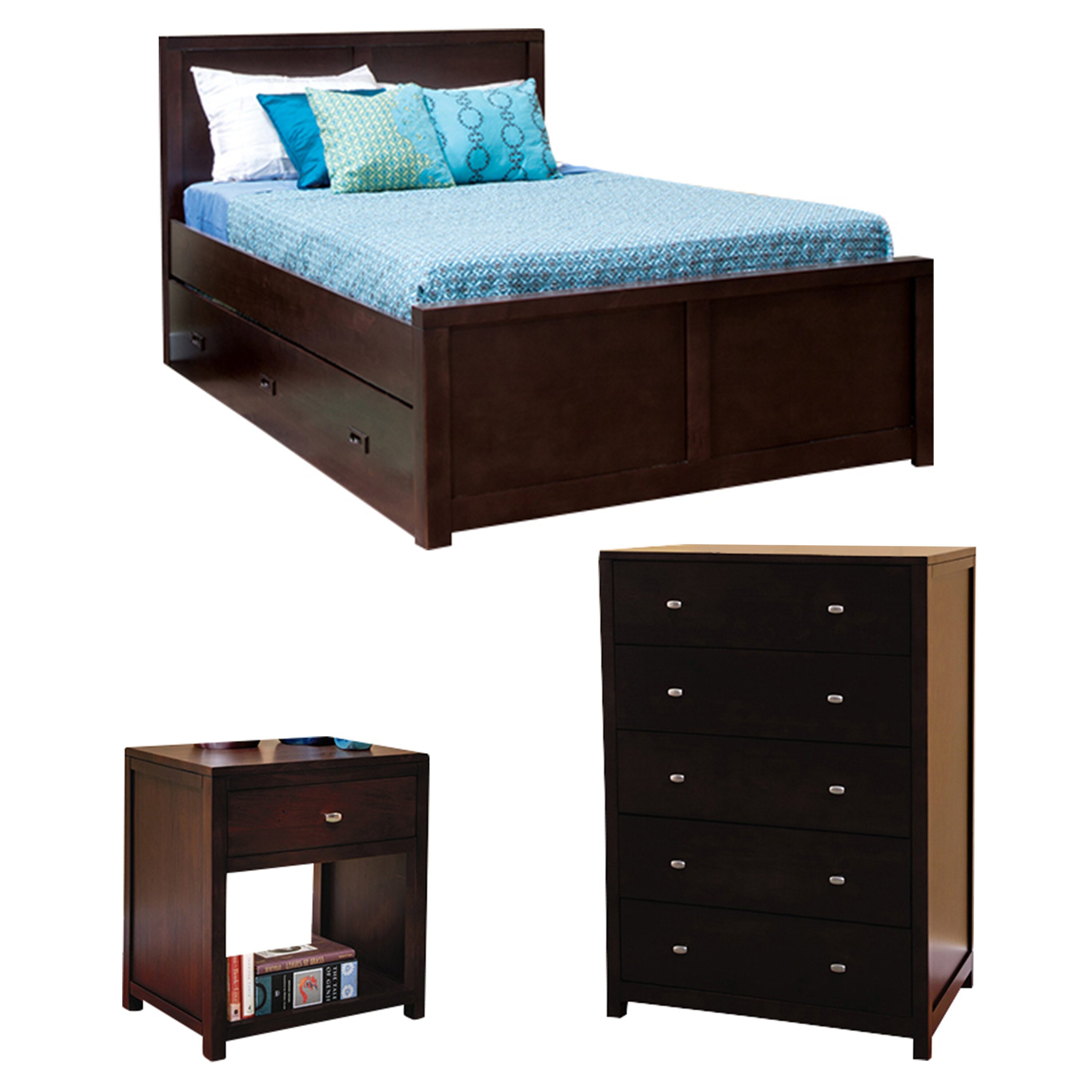 Epoch Design Peyton Full Platform Configurable Bedroom Set