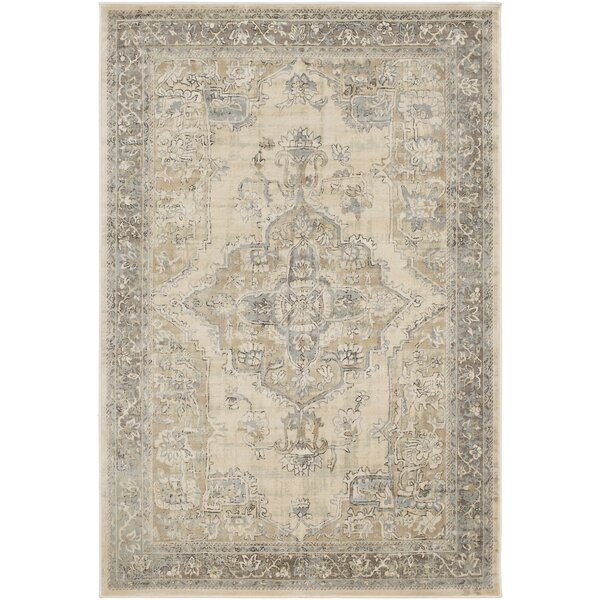 Blue Hill Vintage Khaki Area Rug by One Allium Way