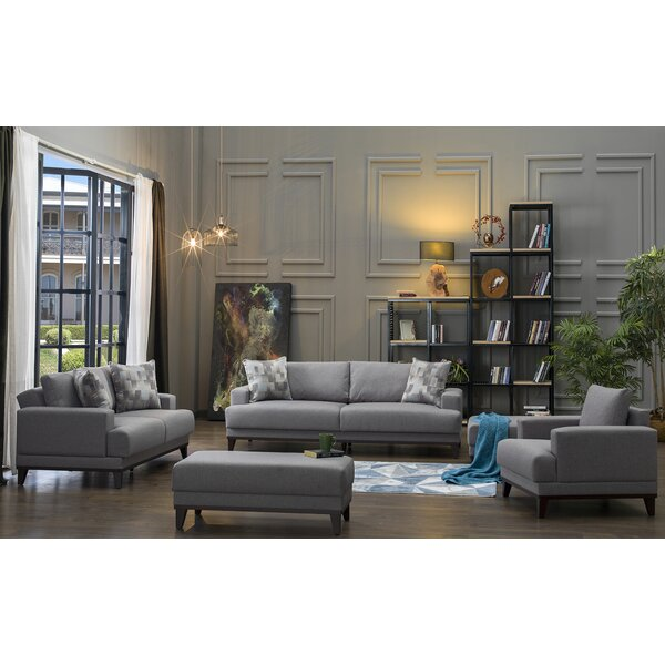 Versailles Sleeper Configurable Living Room Set By Brayden Studio