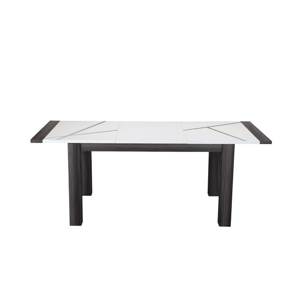 Mize Extendable Dining Table by Wrought Studio
