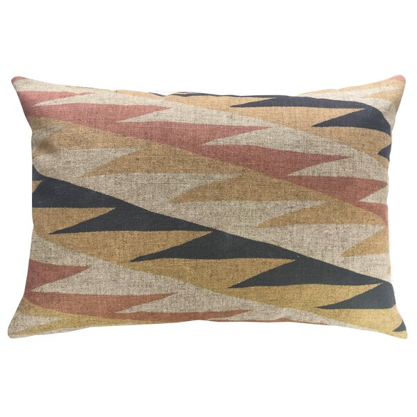 Lusher Linen Throw Pillow by Union Rustic