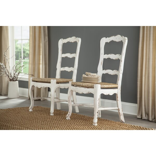 French Ladder Back Solid Wood Dining Chair (Set of 2) by Furniture Classics