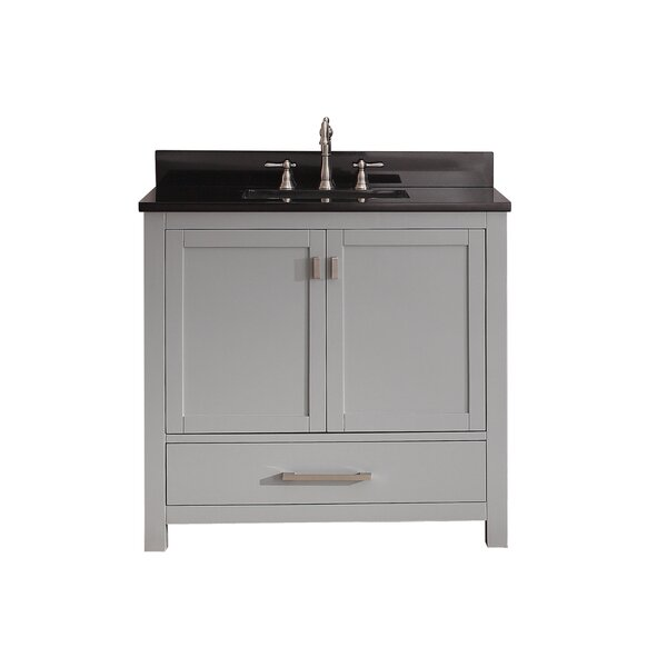 Poyen 37 Single Bathroom Vanity Set by Charlton Home