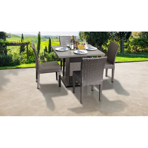 Barbados 5 Piece Dining Set by TK Classics