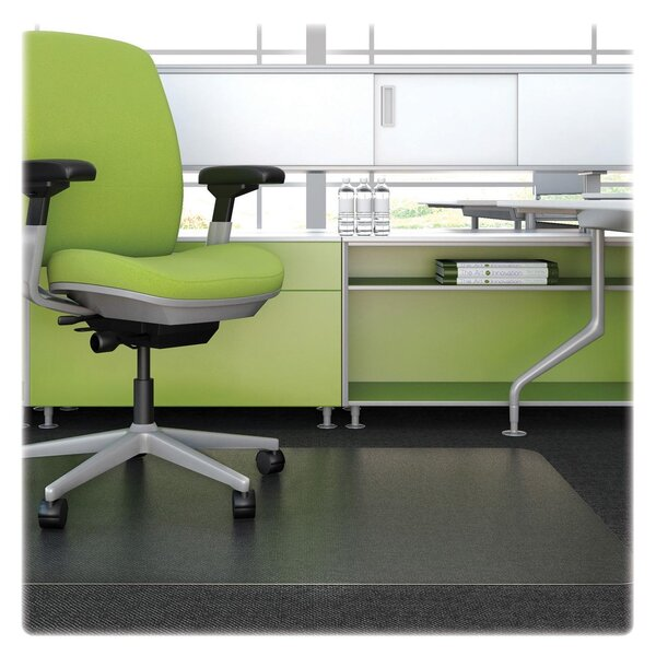 Low Pile Carpet Straight Edge Chair Mat by Deflect-O Corporation