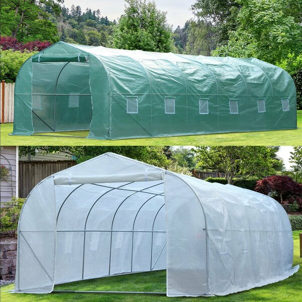 10 Ft. W x 26 Ft. D Greenhouse by Outsunny