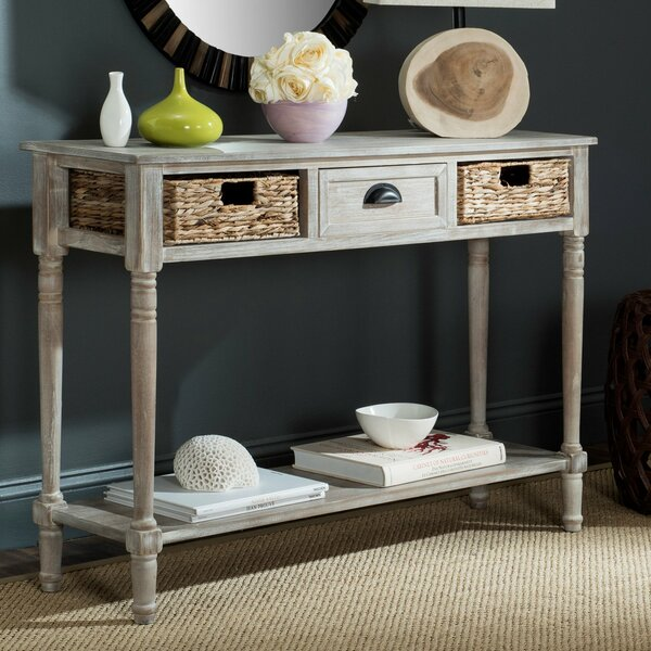 Bayou Breeze White Console Tables