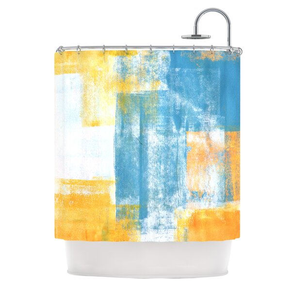 CarolLynn Tice Color Combo Shower Curtain by East Urban Home