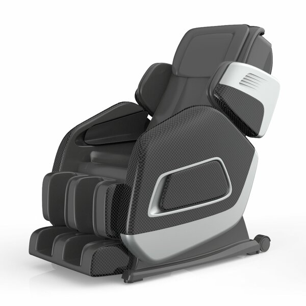 Leather Full Body Heated Massage Chair by Symple Stuff