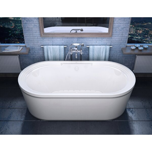 Royal 67 x 34 Freestanding Air Bathtub by Spa Escapes