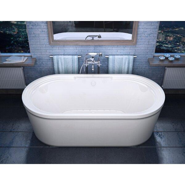 Royal 67 x 34 Freestanding Air Bathtub by Spa Esca