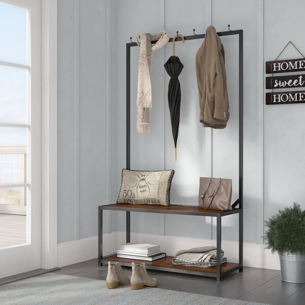 Lieberman Hall Tree With Bench And Shoe Storage By Laurel Foundry Modern Farmhouse
