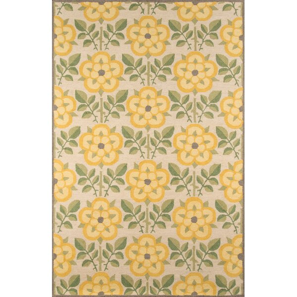 Dottie Hand-Tufted Yellow Area Rug by August Grove