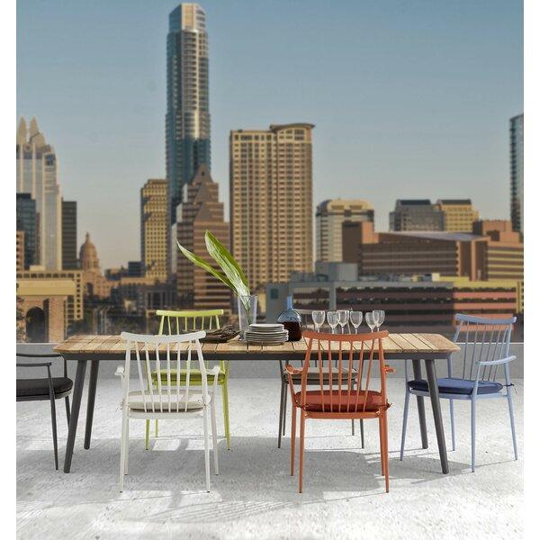 Asphodèle Outdoor Recycle 7 Piece Teak Dining Set by Gracie Oaks
