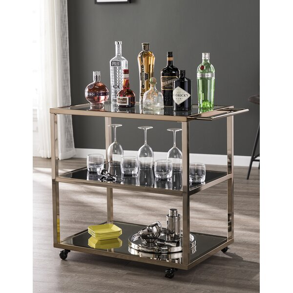 Soperton Bar Cart by Everly Quinn Everly Quinn