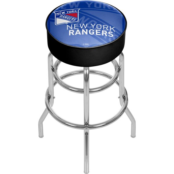 NHL Watermark Swivel Bar Stool by Trademark Global