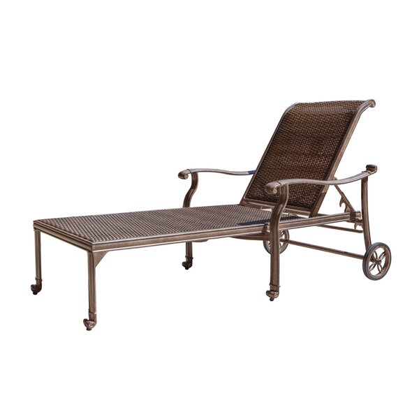 Isai Reclining Chaise Lounge by Darby Home Co
