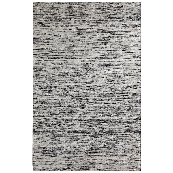 One-of-a-Kind Beach Hand-Woven Grey Area Rug by Ebern Designs