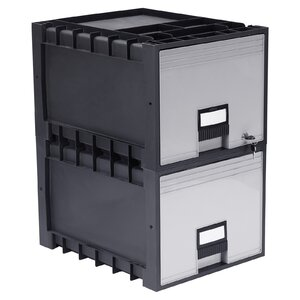 1-Drawer Lateral Filing Cabinet (Set of 2)