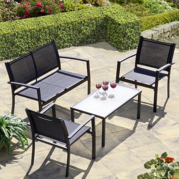 Brasilia 4 Piece Sofa Set by SunTime Outdoor Living