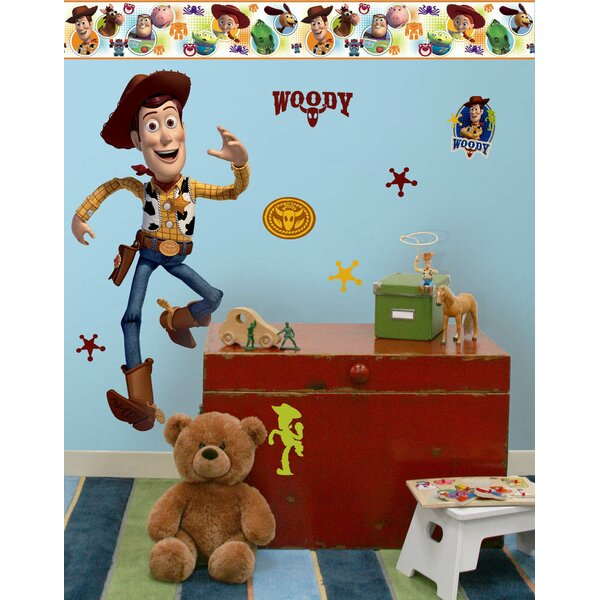 Disney Toy Story 3 Woody Room Makeover Wall Decal by Wallhogs