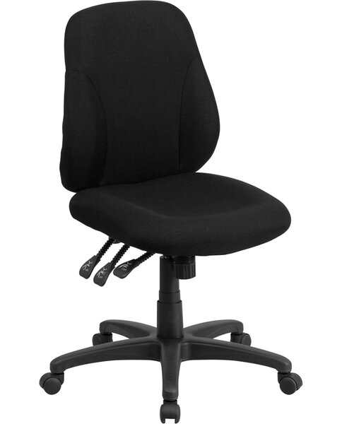 Wootton High-Back Desk Chair by Symple Stuff