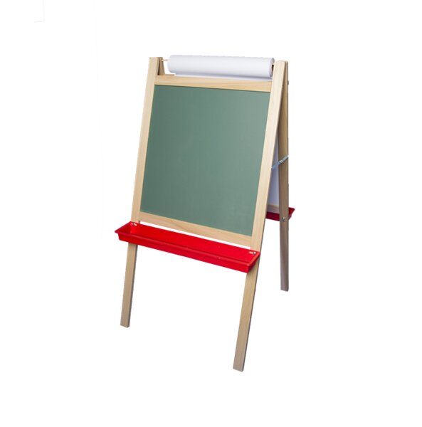 Crestline Products Deluxe Magnetic Paper Roll Board Easel by Flipside Products