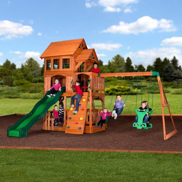 Liberty II All Cedar Swing Set by Backyard Discove