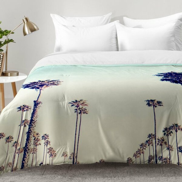 California Palm Trees Comforter Set