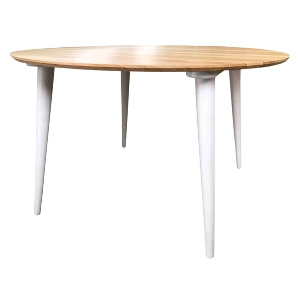 Felicien Round Solid Wood Dining Table by One Allium Way