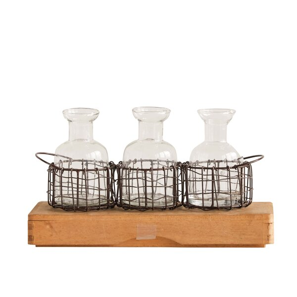 Faulkner 4 Piece Table Vase Set by Gracie Oaks