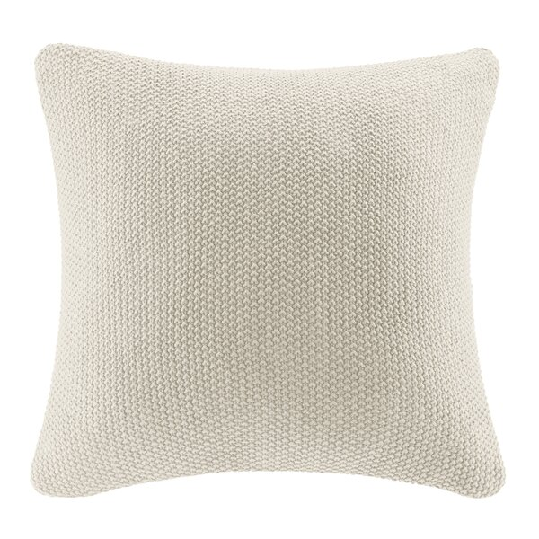 Elliott Knit Throw Pillow Cover by The Twillery Co.