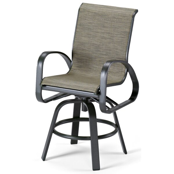 Primera Swivel Patio Dining Chair by Telescope Casual