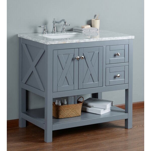 Lambert 36 Single Bathroom Vanity Set by Lark Manor