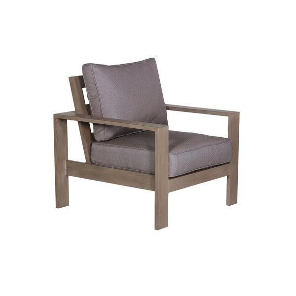 Potsdam Patio Chair with Cushion by Gracie Oaks