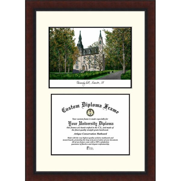 NCAA Northwestern University Legacy Scholar Diploma Picture Frame by Campus Images