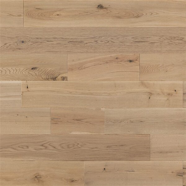 Buchanan French 6 Solid Oak Hardwood Flooring in Ivory by Welles Hardwood
