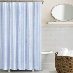 Washed Linen Single Shower Curtain