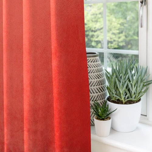 LeLand Pencil Pleat Blackout Thermal Curtains Bay Isle Home