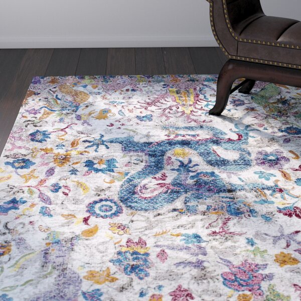 Bender Ivory Area Rug by World Menagerie