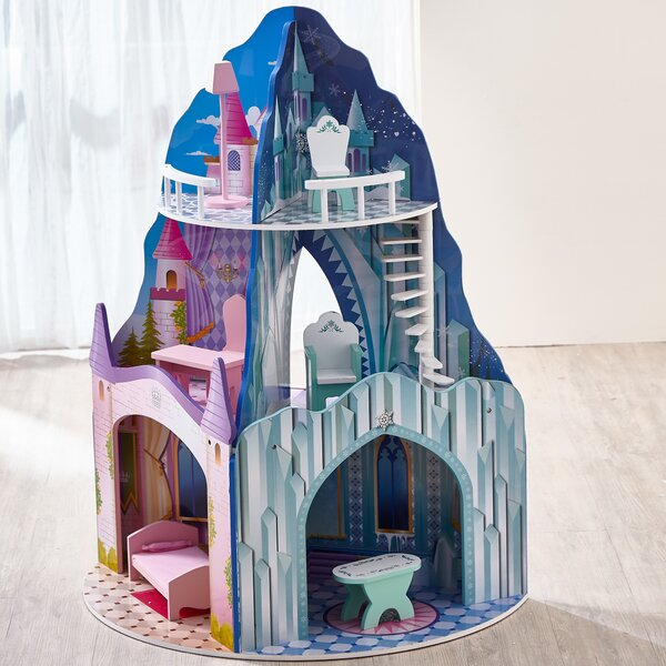 Dual Theme Dollhouse - Ice Mansion & Dream Castle by Teamson Kids
