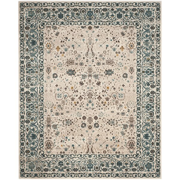 Zennia Blue Area Rug by Bungalow Rose