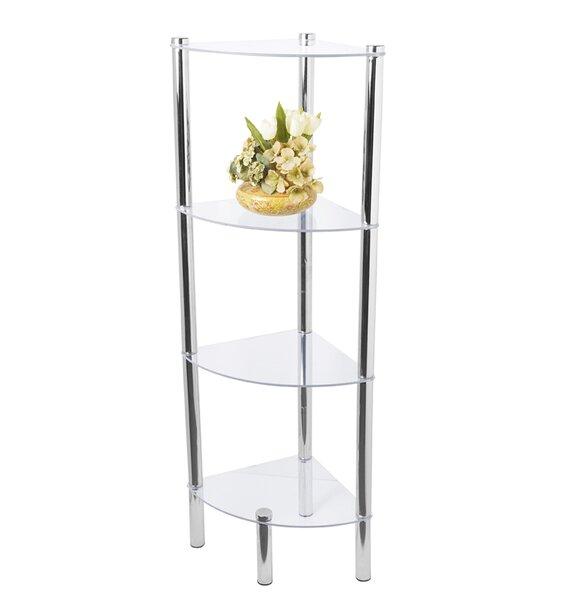 Four Shelf Corner Unit by Home Basics
