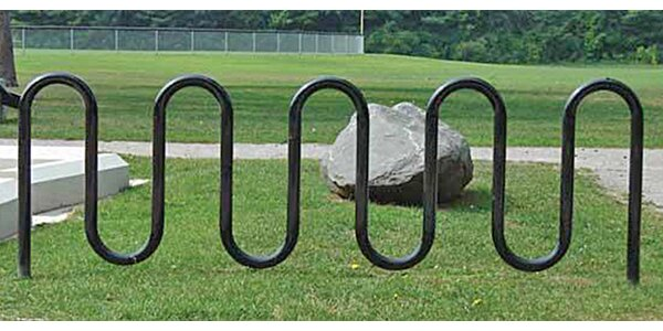 11 Bike Wave Freestanding Bike Rack by Highland Products