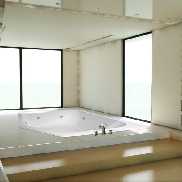 Designer Katarina 69 x 69 Soaking Bathtub by Hydro Systems