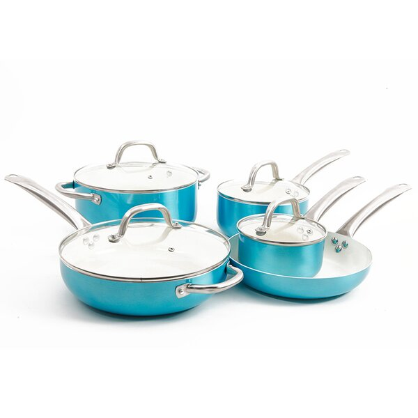 Montecielo 9 Piece Cookware Set by Oster
