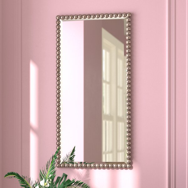Rectangle Beveled Glass Wall Mirror by Willa Arlo Interiors