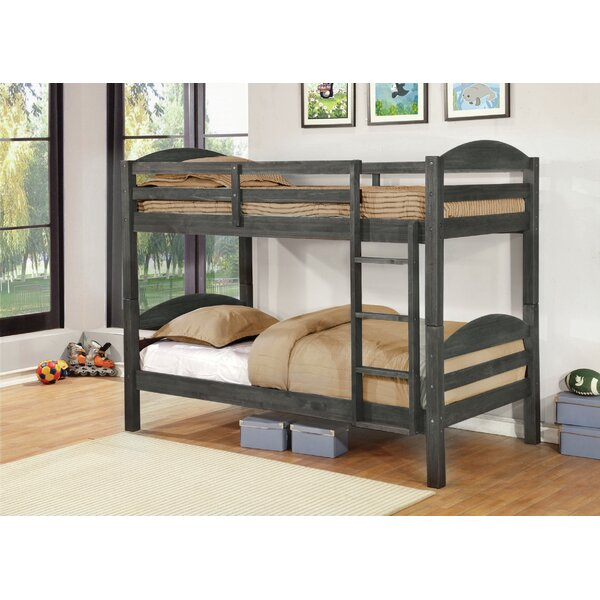 Bloomquist Twin over Twin Bunk Bed by Harriet Bee