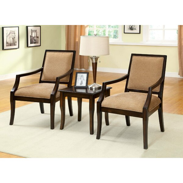 Goines 3 Piece Armchair Set by Darby Home Co Darby Home Co