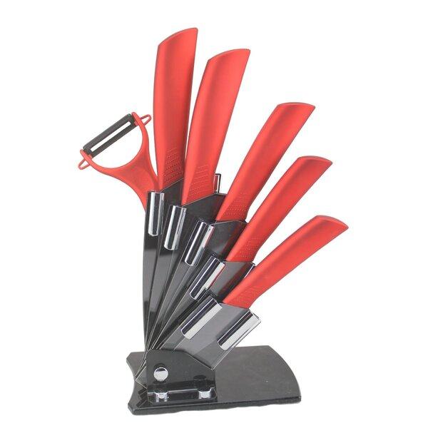 7 Piece Knife Set by Melange